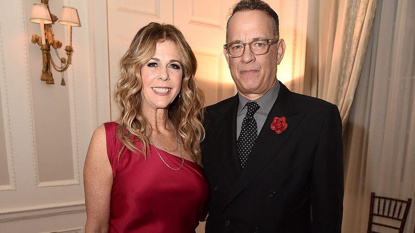 Rita Wilson und Tom Hanks bei einer Dinnerparty in NYC im November 2019