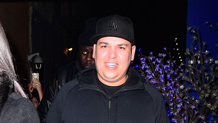 Rob Kardashian in New York