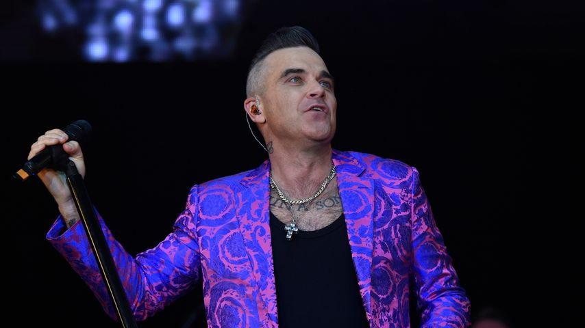 Robbie Williams in Manchester 2019