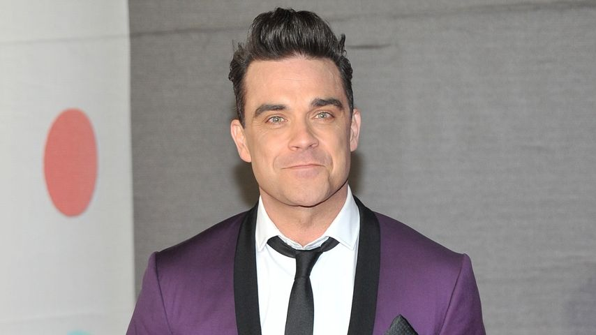 Cool! Robbie Williams bekennt Farbe in London