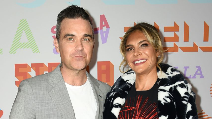 Robbie Williams und Ayda Field bei Stella McCartney-Show 2018