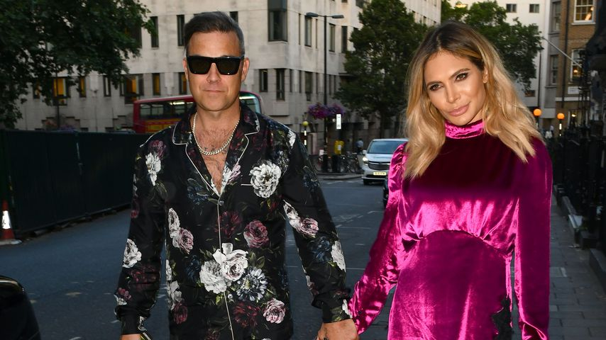 Robbie Williams und Ayda Field im Juli 2018 in London