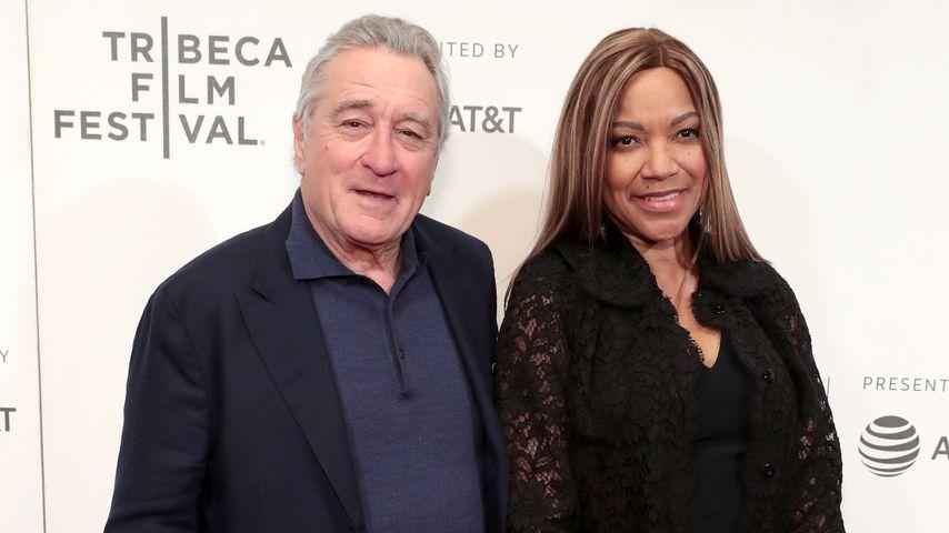 Robert De Niro mit seiner Frau Grace Hightower im April 2018