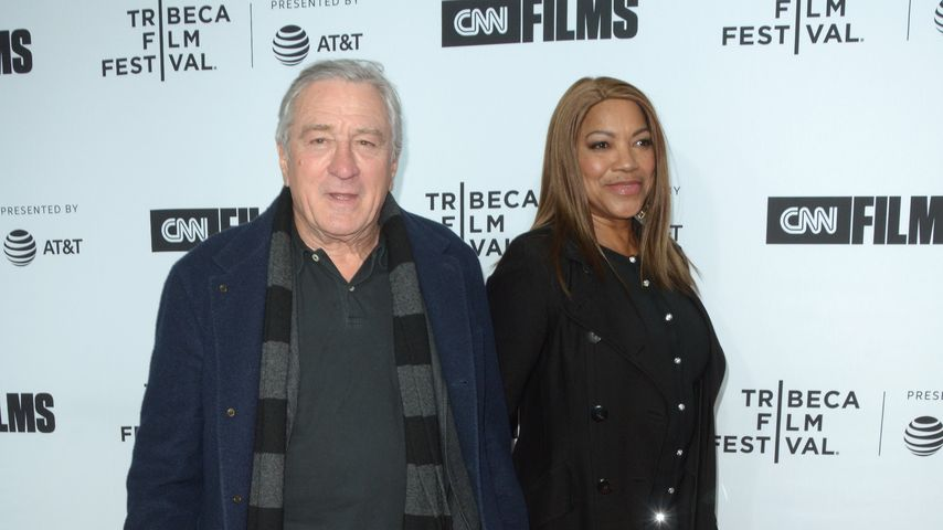 Robert De Niro und Grace Hightower beim Tribeca Film Festival 2018