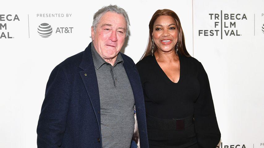 Robert De Niro und Grace Hightower, 2018