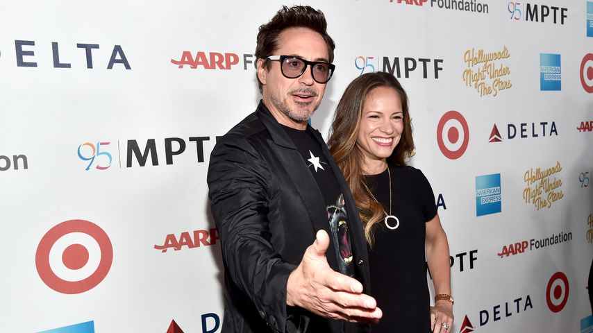Robert Downey Junior und Susan Downey 2016