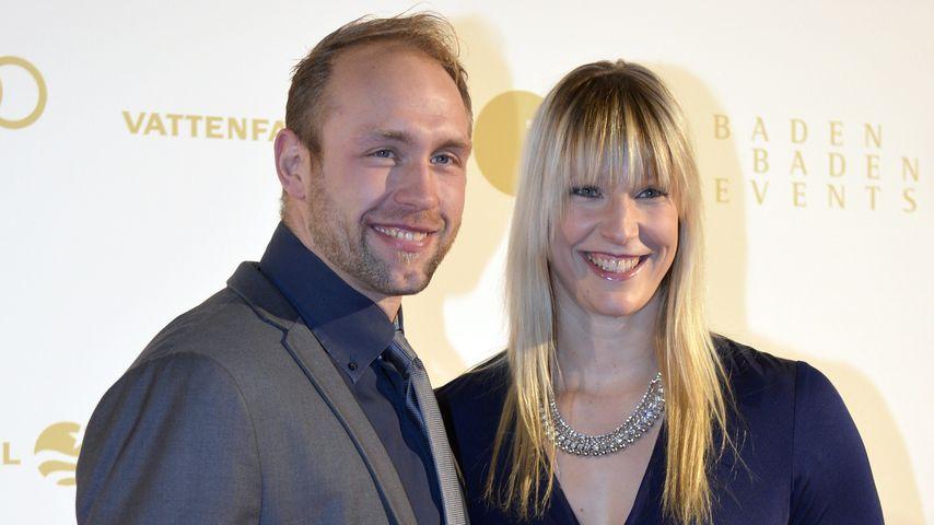 Robert Harting und Julia Fischer im Dezember 2013
