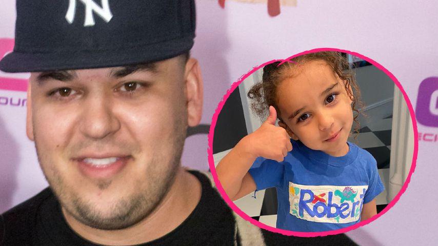 Rührend: Rob Kardashians Tochter trägt Shirt seines Vaters