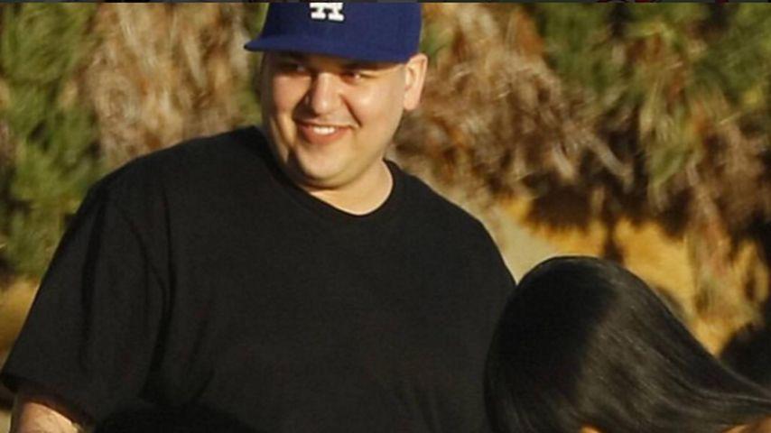 Krasse Diät: So viel hat Rob Kardashian bereits abgenommen