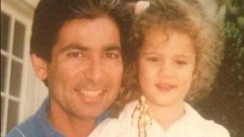 Robert Kardashian Senior und die junge Khloe Kardashian