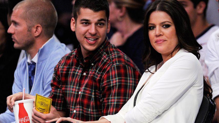Robert Kardashian und Khloe Kardashian