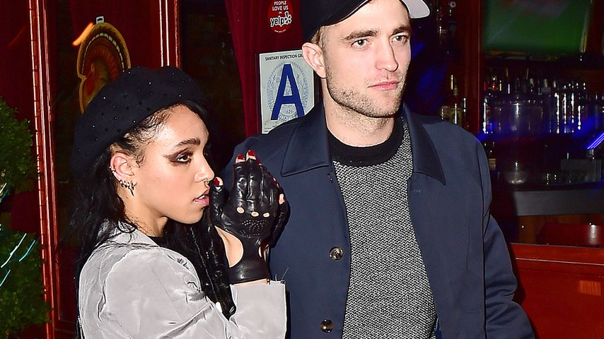 Verplappert! Robert Pattinson & FKA Twigs sind verlobt!