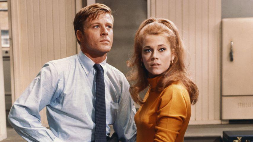 """Robert Redford und Jane Fonda in """"Barfuß im Park"""", 1969"""