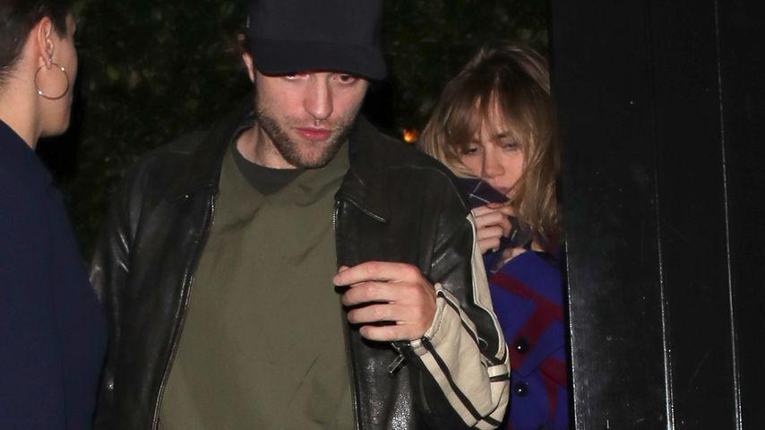 Robert Pattinson und Suki Waterhouse in London