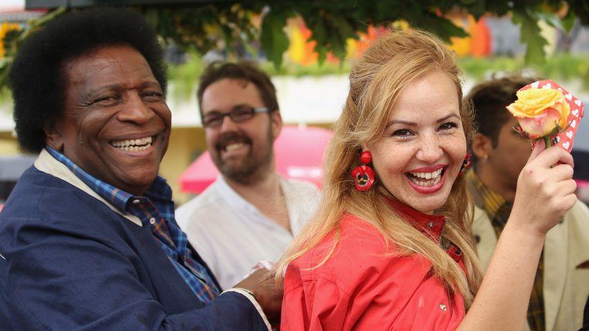 Roberto Blanco und Luzandra Blanco beim Wiesn-Einzug 2016 in München