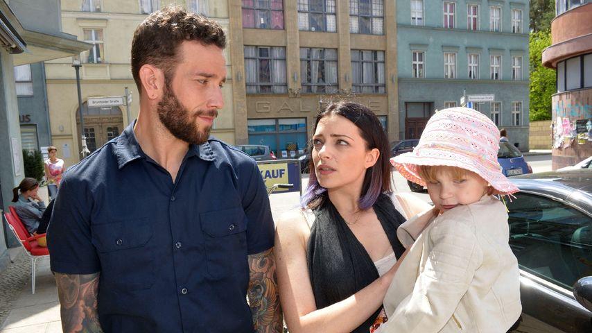 Roberto (Sascha Pederiva), Emily (Anne Menden) und Kate (Emilia Klauk)