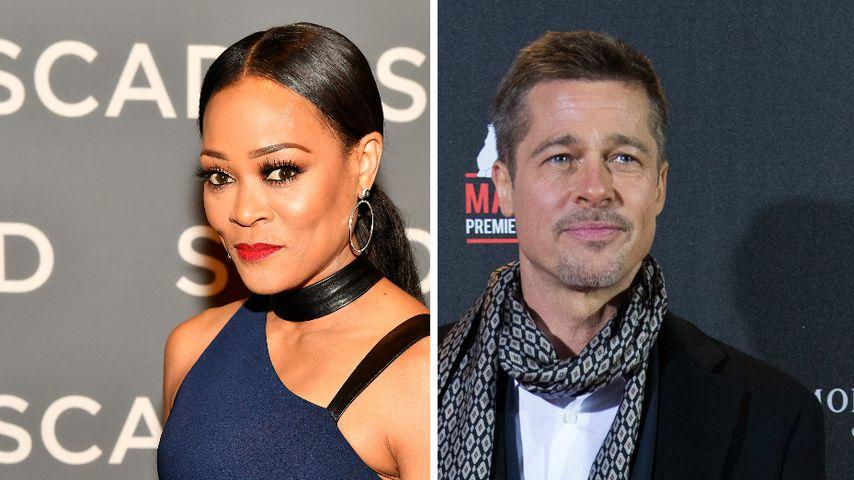 """""""Niemals"""": Robin Givens dementiert Verhältnis mit Brad Pitt"""