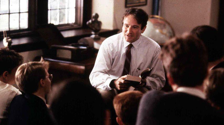 """Robin Williams in """"Der Club der toten Dichter"""""""