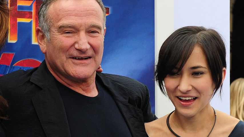 Robin Williams und seine Tochter Zelda 2011 in Hollywood