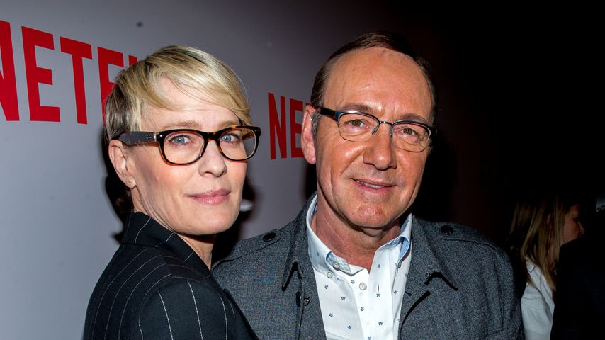"Robin Wright und Kevin Spacey bei einem ""House of Cards""-Screening-Event 2015"