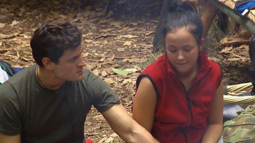 1. Dschungel-Liebe? Kim und Rocco turteln heftig