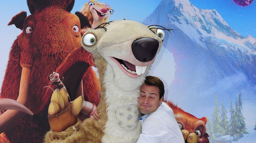 """Rocco Stark bei der Deutschlandpremiere von """"Ice Age"""" in Berlin"""