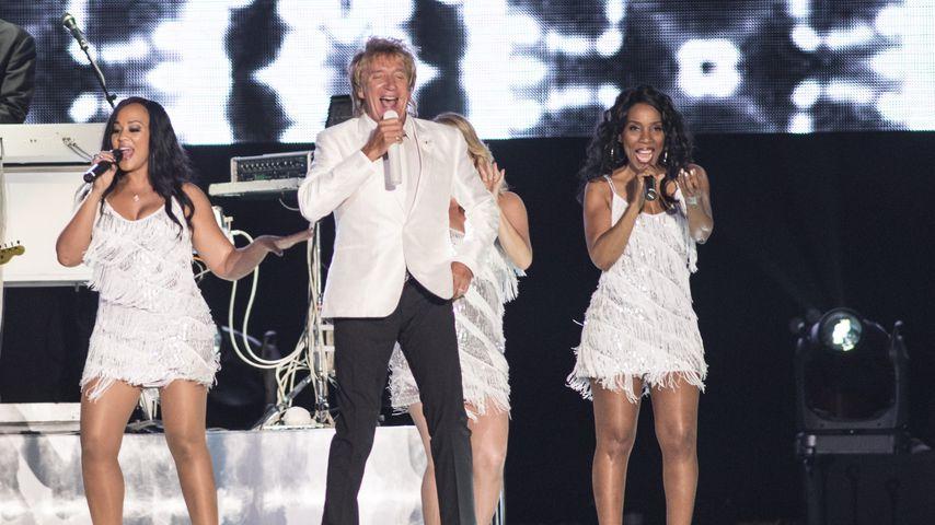 Rod Stewart performt beim Rock in Rio