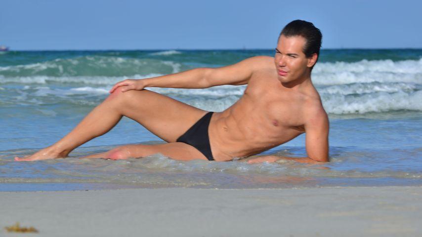 Rodrigo Alves am Strand