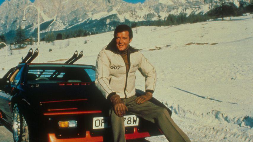 """Roger Moore in """"James Bond 007 – In tödlicher Mission"""""""