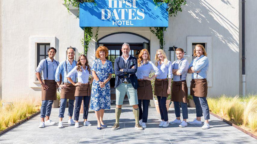 """Roland Trettl und sein """"First Dates Hotel""""-Team"""