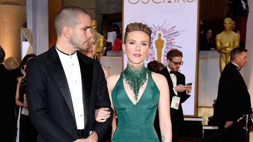 Trennungs-Wirrwarr: Scarlett Johansson mit Ex auf Party!