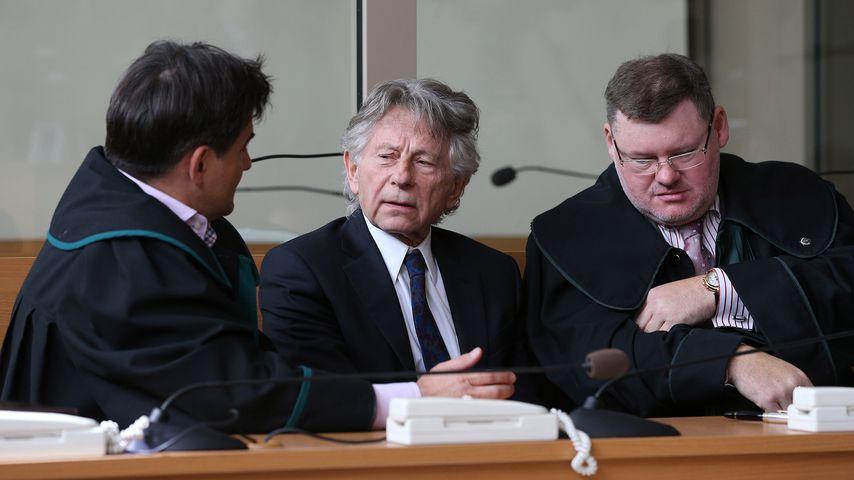 Regisseur Roman Polanski vor Gericht in Krakau 2015
