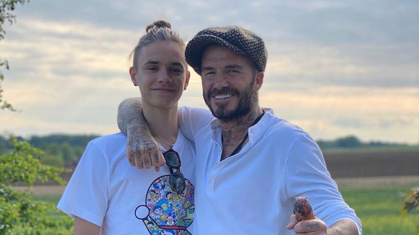 Romeo und David Beckham