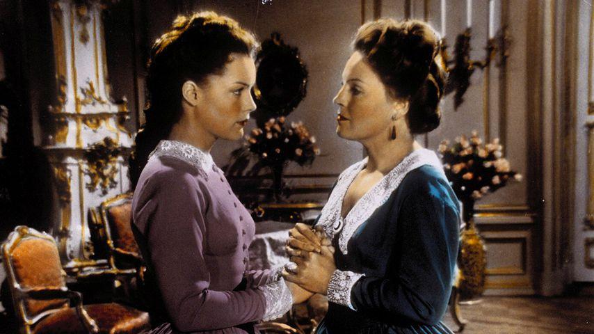 """Romy und Magda Schneider in """"Sissi, die junge Kaiserin"""""""