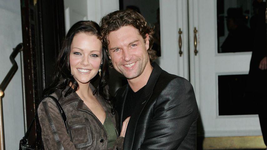 Ron Holzschuh und Schauspielerin Kristina Doerfer, Dezember 2006