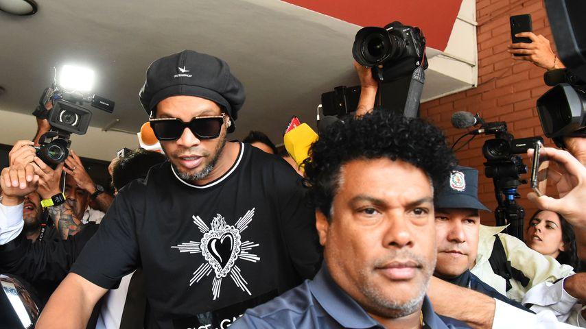 Ronaldinho in Paraguay, März 2020