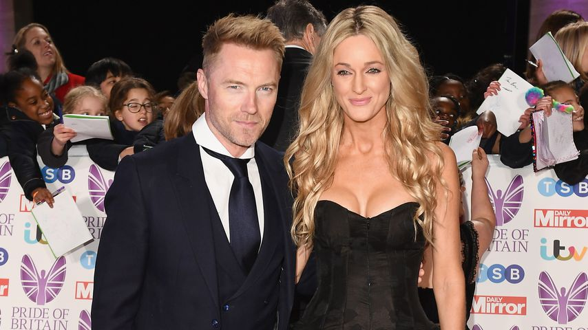 Ronan und Storm Keating 2018 in London