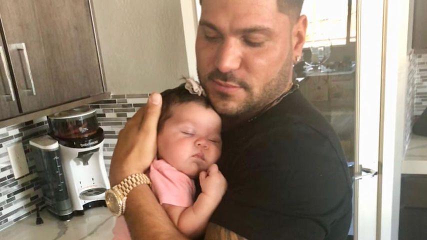 Ronnie Ortiz-Magro und seine Tochter Ariana