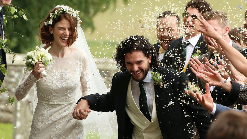 """Kit & Roses Hochzeit: Diese """"Game of Thrones""""-Stars waren da"""