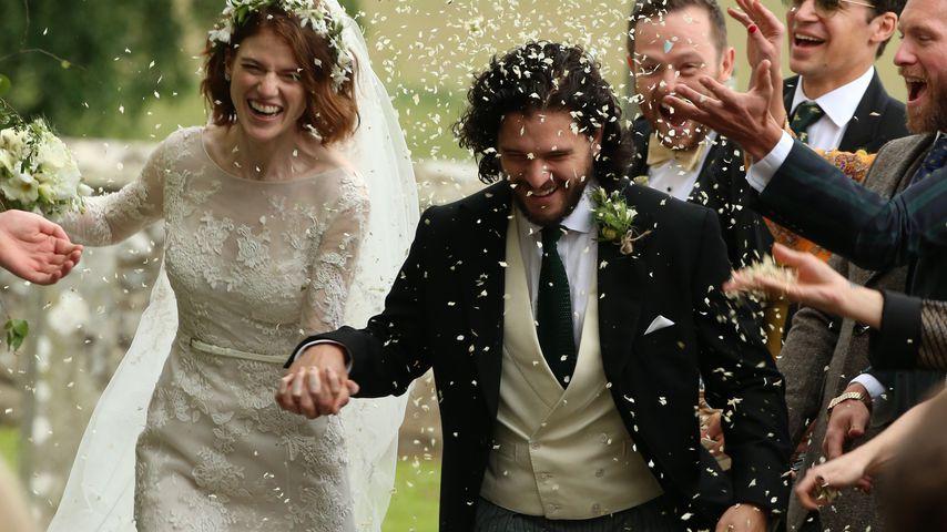 Sie haben Ja gesagt! GoT-Kit Harington hat Rose geheiratet