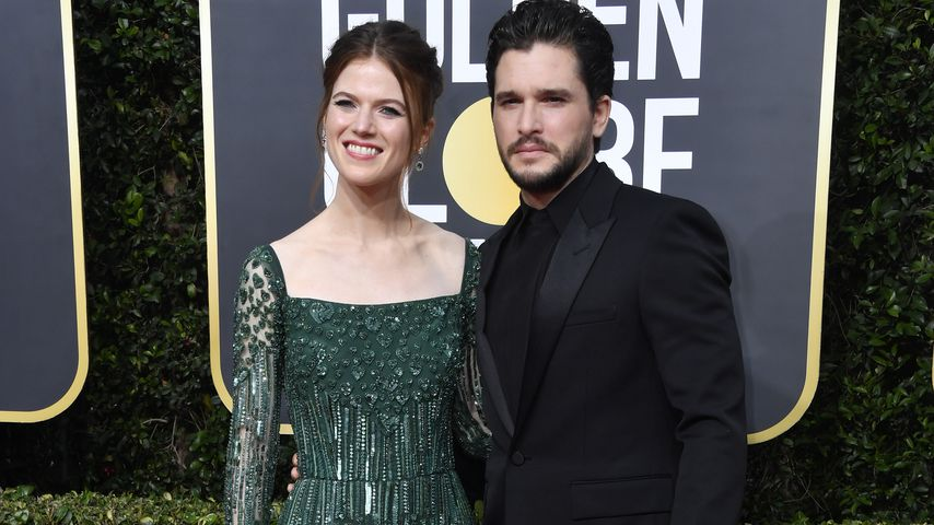 Rose Leslie und Kit Harington bei den Golden Globes in Beverly Hills im Januar 2020