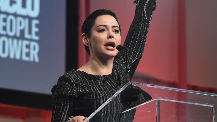 Rose McGowan: 1. öffentliche Rede nach Weinstein-Drama!