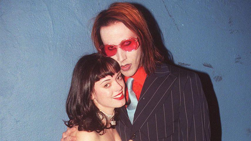 Rose McGowan und Marilyn Manson