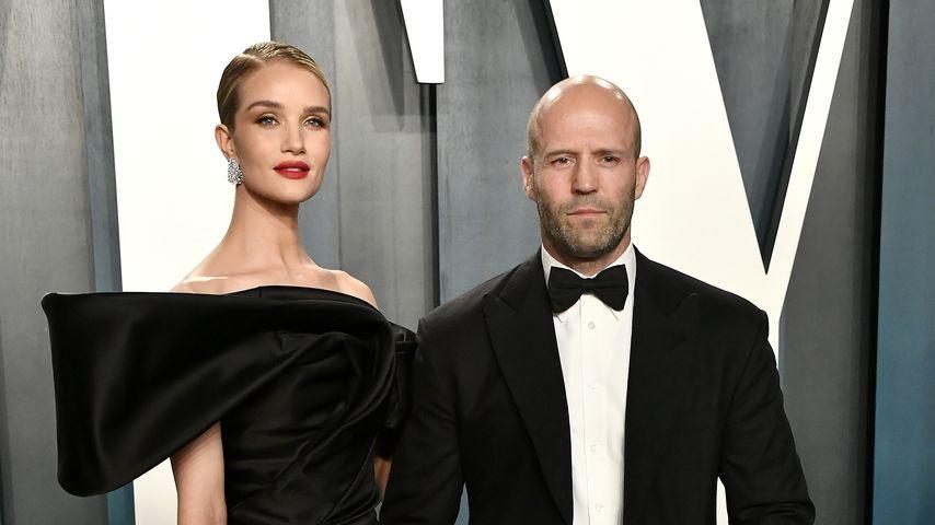 Rosie Huntington-Whiteley und Jason Statham bei der Vanity Fair Oscar Party 2020
