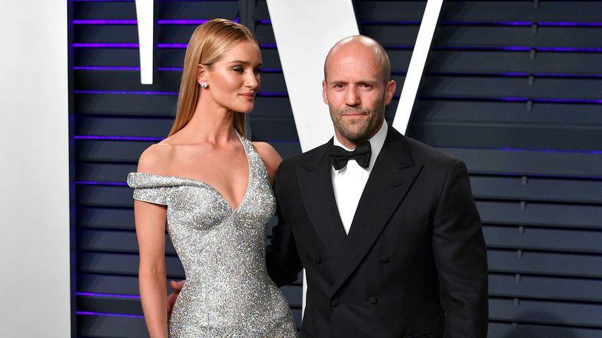 Rosie Huntington-Whiteley und Jason Statham im Februar 2019 in Beverly Hills