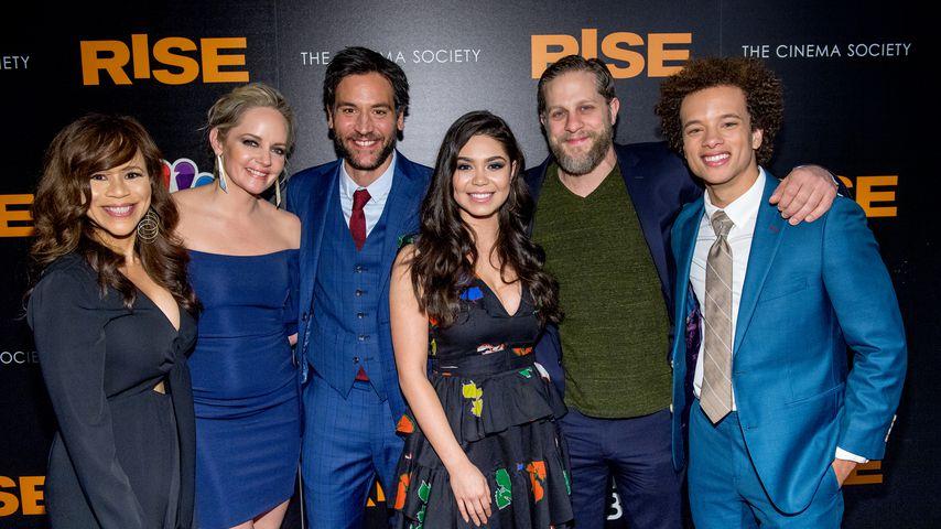 """Die Macher von """"Rise"""" auf der Premierenfeier"""