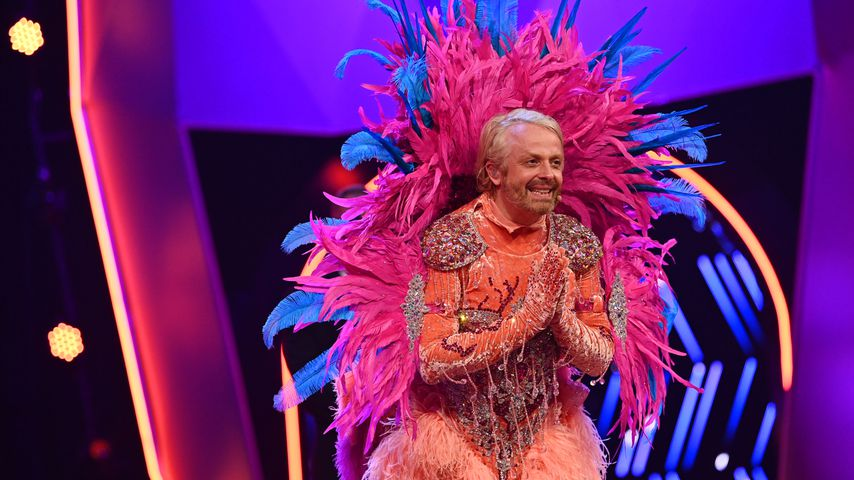 "Ross Antony als ""The Masked Singer""-Flamingo"