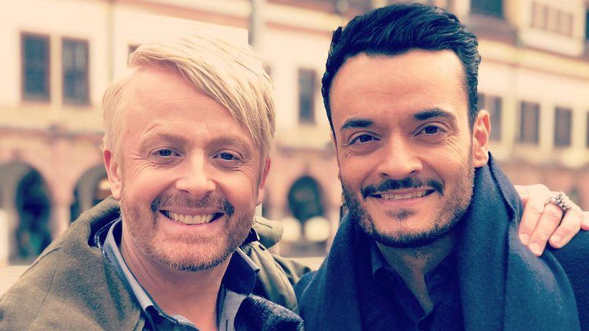 Ross Antony mit Giovanni Zarrella in Leipzig im Mai 2019