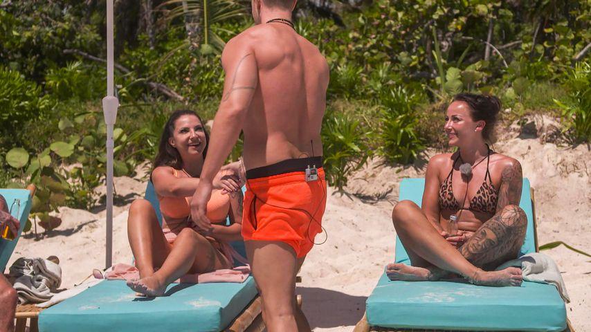 "Roxy, Jay und Sandra bei ""Ex on the Beach"" 2021"