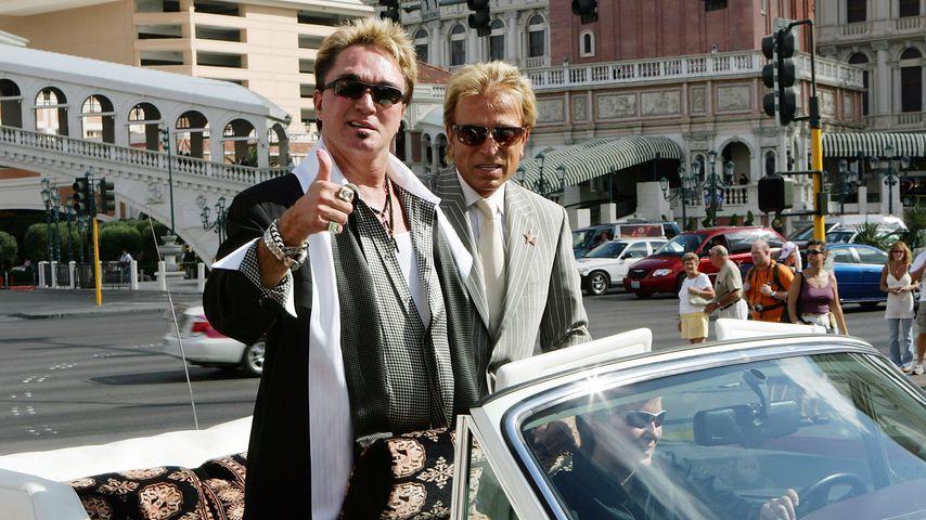 Roy Horn und Siegfried Fischbacher in Las Vegas im Oktober 2006